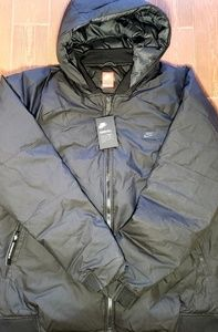 Nike Downfill Hooded Bomber Jacket Sportswear XXLT